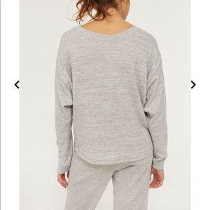 Ardene dolman sleeve pullover sweater. Grey, small
